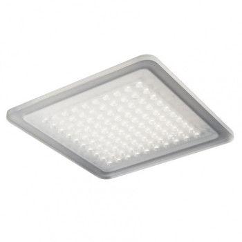 - Modul Q100 LED Deckenleuchte - opal/3000 K/warmweiß/28x28cm/ohne Konverter