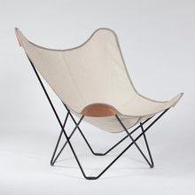 cuero - Canvas Mariposa Butterfly Chair Outdoorsessel