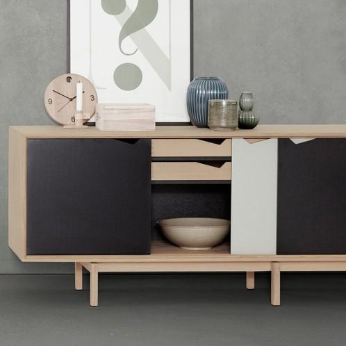 Andersen Furniture - Wood Time Wanduhr Ø22cm
