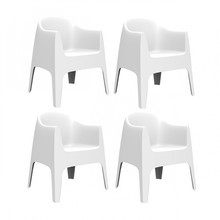 Vondom - Solid Armchair Set of 4