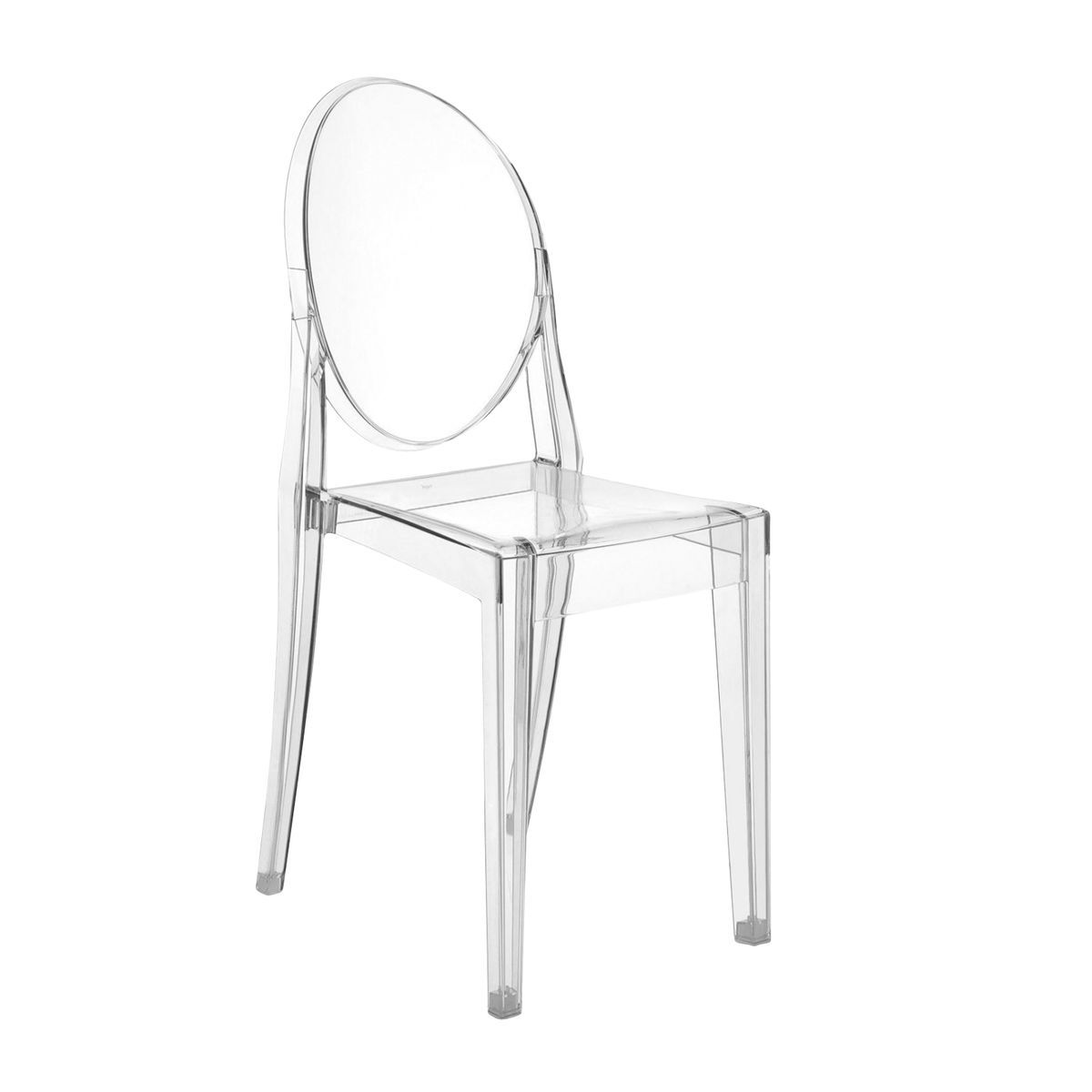 victoria ghost chair  kartell  ambientedirectcom - kartell  victoria ghost chair  transparenttransparent