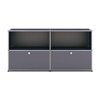 Usm Möbelbausysteme Usm Sideboard Mit 2 Schubladen Ambientedirect