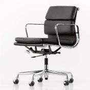 Vitra: Brands - Vitra - EA 217 Soft Pad Eames Alu Chair Swivel Chair