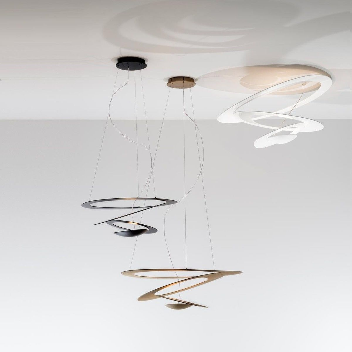 pirce mini led ceiling lamp  artemide  ambientedirectcom - artemide  pirce mini led ceiling lamp