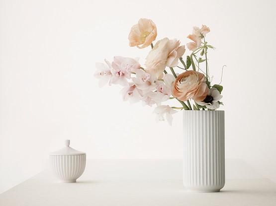 Vase mit Blumen