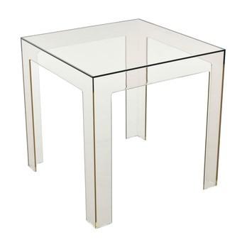 Kartell - Jolly Tisch - helles fumé/transparent