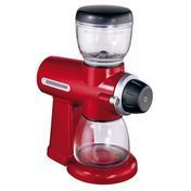 KitchenAid - Artisan 5KCG100 Coffee Mill - empire red/stainless steel/175-185 W