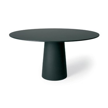 Moooi - Container Table Round - black/HPL laminate/Ø120cm