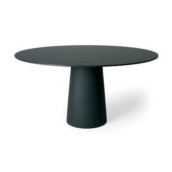 Moooi - Container Tisch rund - schwarz/HPL Laminat/Ø120cm