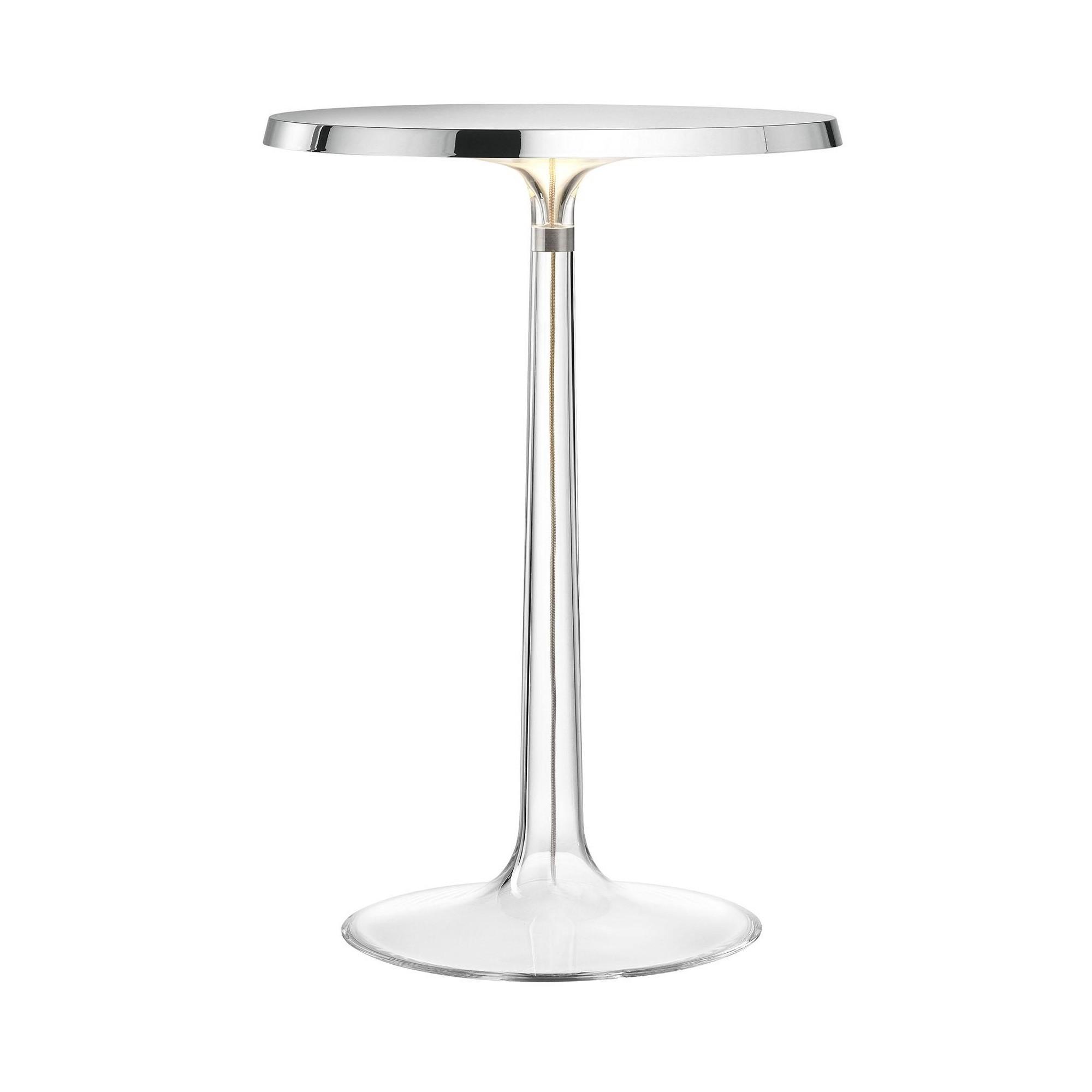 Picture of: Flos Bon Jour Led Table Lamp Chrome Ambientedirect