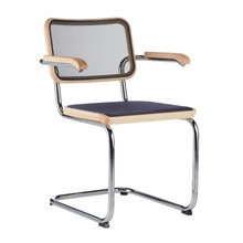 Thonet - S 64 N Pure Materials Cantilever Armchair Ash