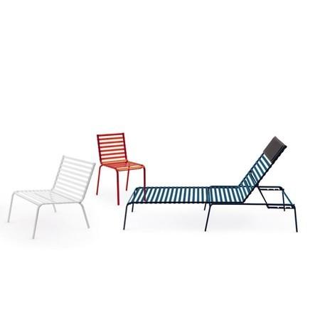Magis Striped Tavolo Rond Tuintafel.Magis Striped Tuinstoel Ambientedirect