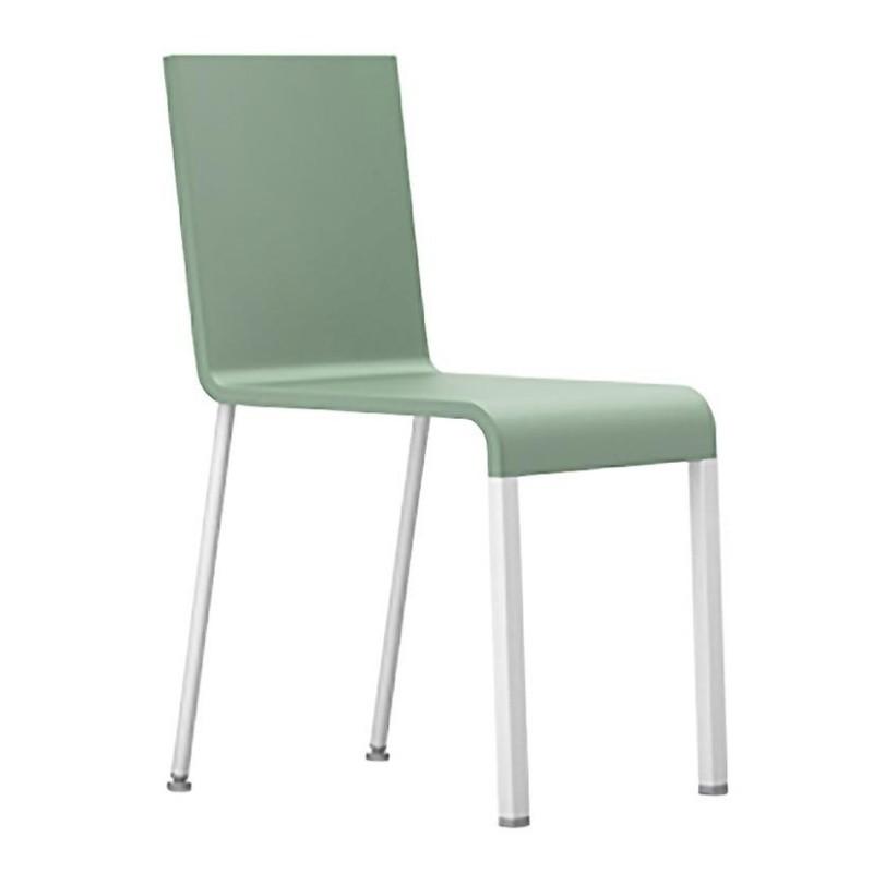 .03 Chair Not Stackable Sleek Silver Base .