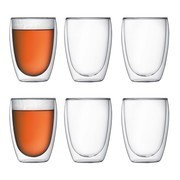 Bodum - Pavina Glass Set of 6