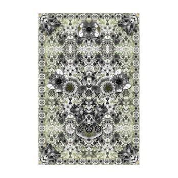 Moooi Carpets - Eden King Teppich 200x300cm - grau/grün