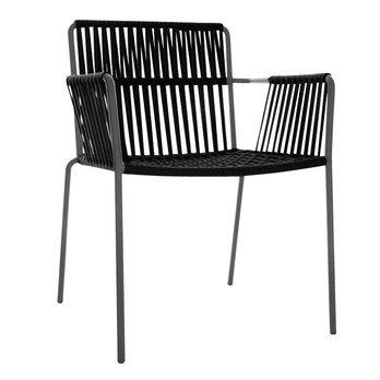 Captivating Kettal   Net Garden Armchair   Black/without ...