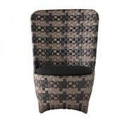 Driade - Cape West Outdoor Sessel - beige/schwarz/inkl. Kissen/Einzelstück - nur einmal verfügbar!