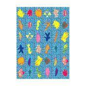 Driade - Sea Carpet - multicolour/pure new wool/126x178cm