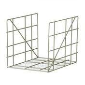 - Square Zeitschriftenhalter - dusty grün/pulverbeschichtet/BxH 31x25cm