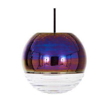 Tom Dixon - Flask Oil Ball Pendelleuchte - irisierend/dimmbar/18x16,5cm