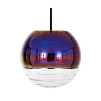 Tom Dixon - Flask Oil Ball Pendelleuchte - irisierend/dimmbar/18x16,5cm