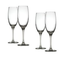 Alessi - Mami XL - Lot de flûtes à champagne
