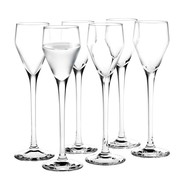 Holmegaard - Set de 6 verres à liqueur Perfection