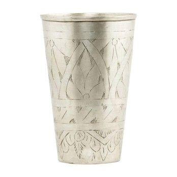 - Lassi Vase - messing/H:12cm/Ø8cm