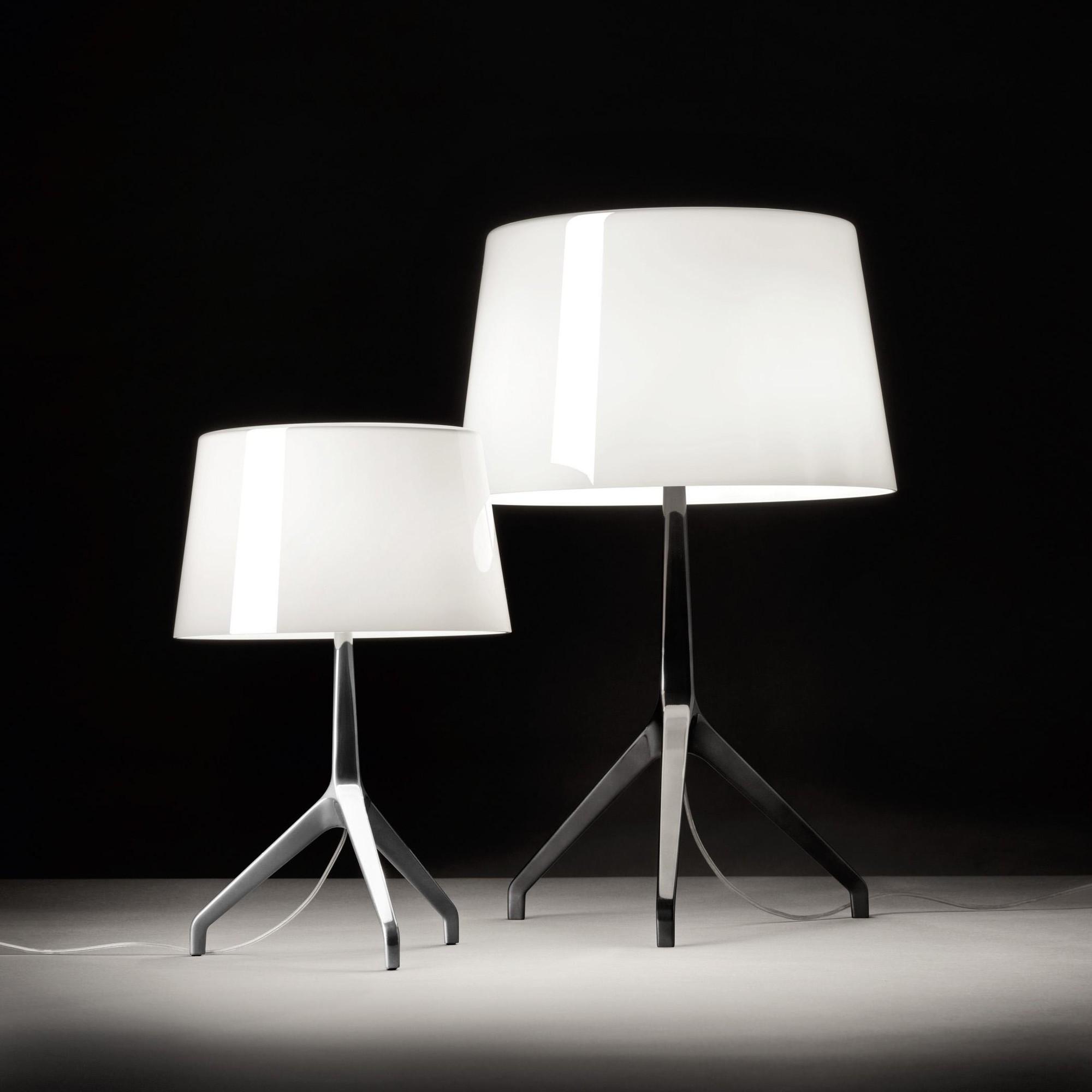 Lumiere Lampe Table Xxl Chrome De NZ8nXOPk0w
