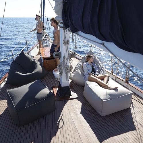 Gandia Blasco - Sail Outdoor Pouf/Sitzkissen