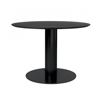 Gubi - 2.0 Dining Table Gestell schwarz Ø110cm