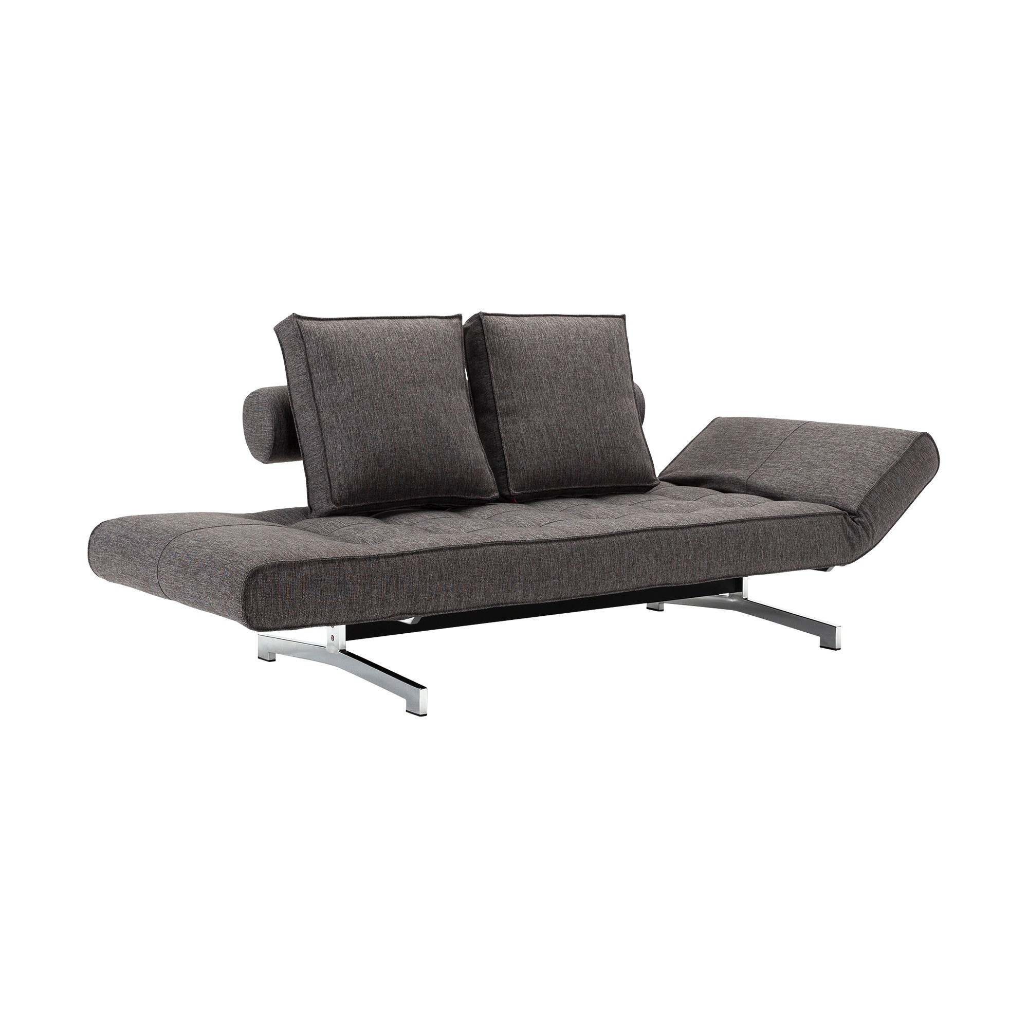 Excellent Ghia Sofa Bed Fabric Legs Chromed Steel 180X90Cm Bralicious Painted Fabric Chair Ideas Braliciousco