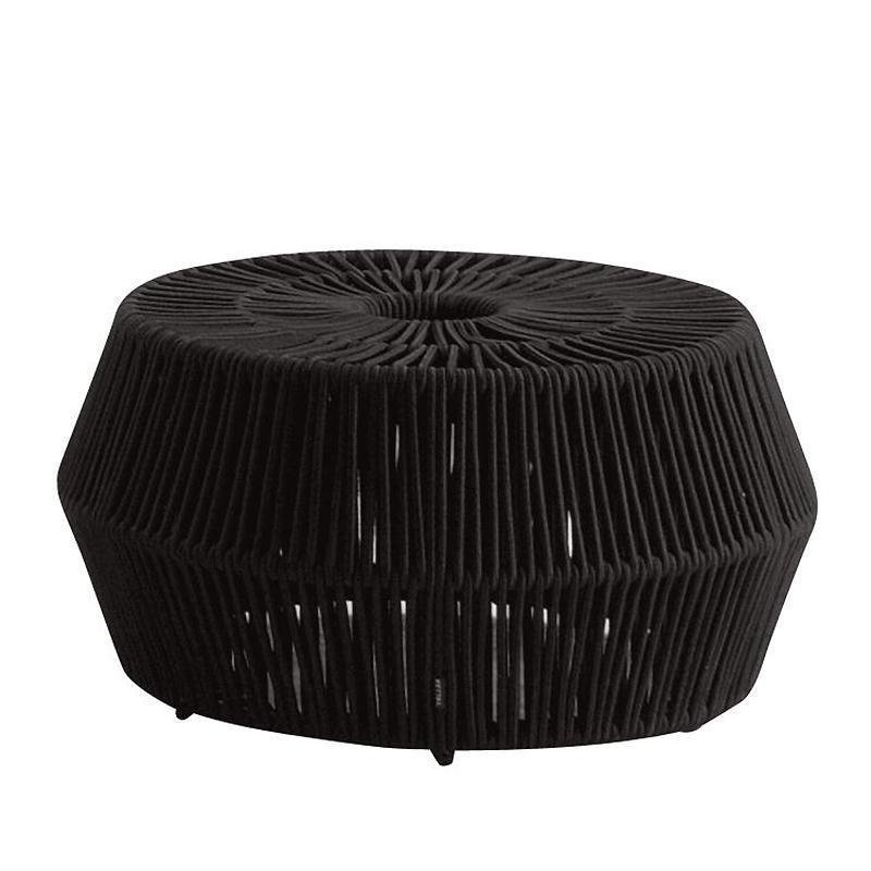 Enjoyable Objects Zigzag Outdoor Pouf Inzonedesignstudio Interior Chair Design Inzonedesignstudiocom