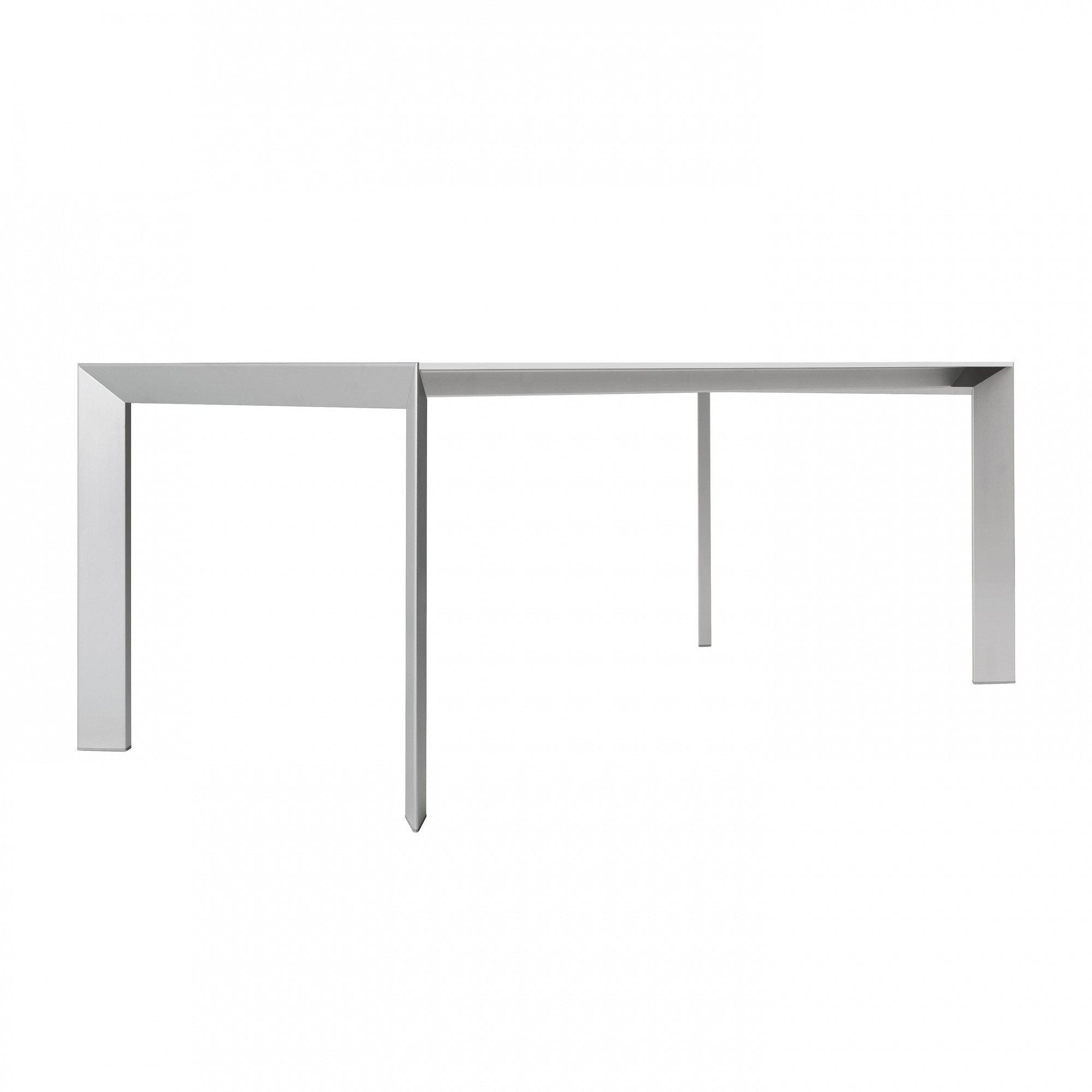 Kristalia Nori Alucompact Dining Table Extendable Ambientedirect