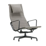 Vitra - EA 124 Aluminium Chair Black Base