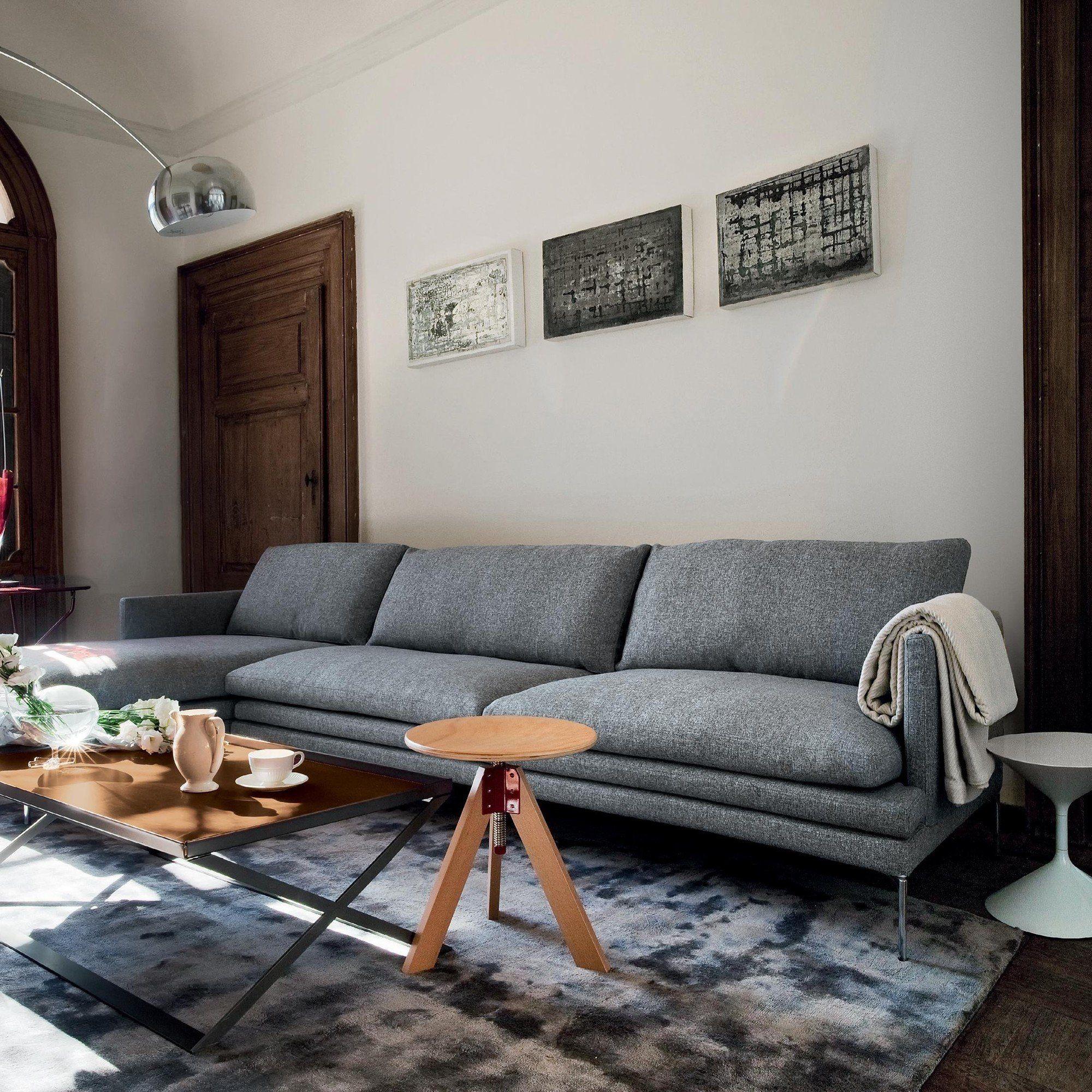 Zanotta William 3-Sitzer Sofa   AmbienteDirect