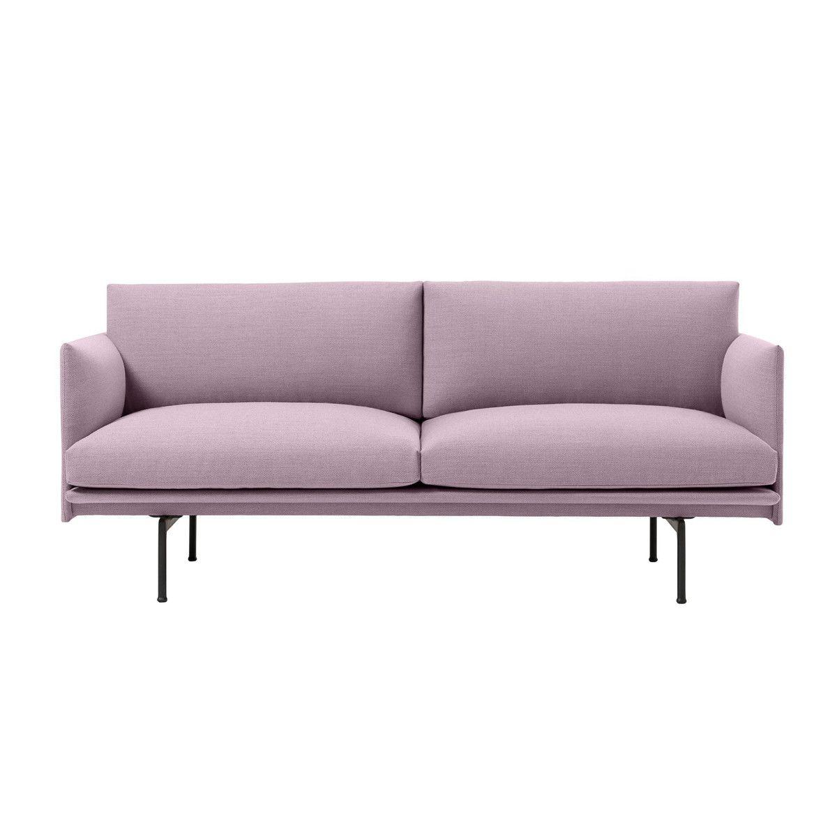 Sofa stoff  Outline Sofa 2 Seater | Muuto | AmbienteDirect.com