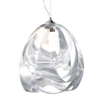 Slamp - Goccia di Luce Prisma Pendelleuchte - transparent/Prisma/Ø30cm/Lentiflex®