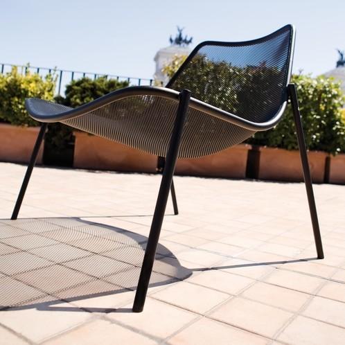 emu - Round Gartensessel