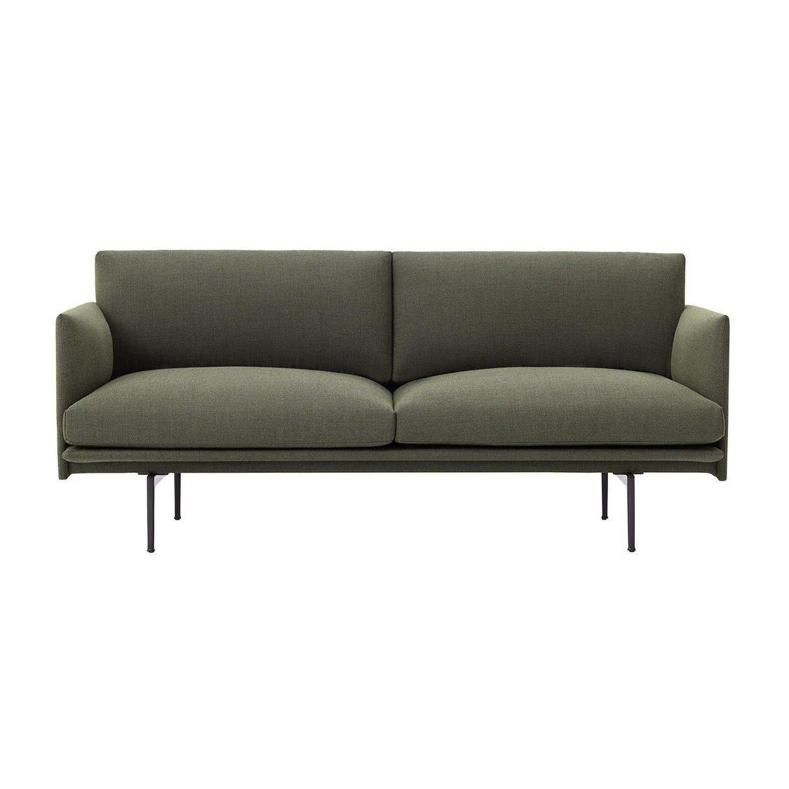 outline sofa 2 sitzer muuto. Black Bedroom Furniture Sets. Home Design Ideas