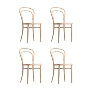 Thonet - Set de 4 chaise Thonet 214 M Promo