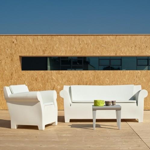 Kartell - Bubble Club Sofa / Zweisitzer