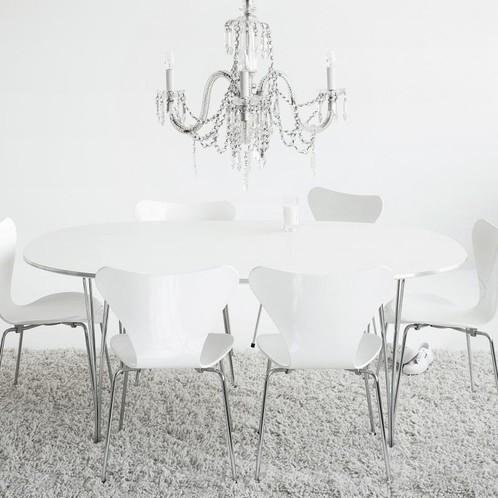 Fritz Hansen - Serie 7 Stuhl lasiert 46cm