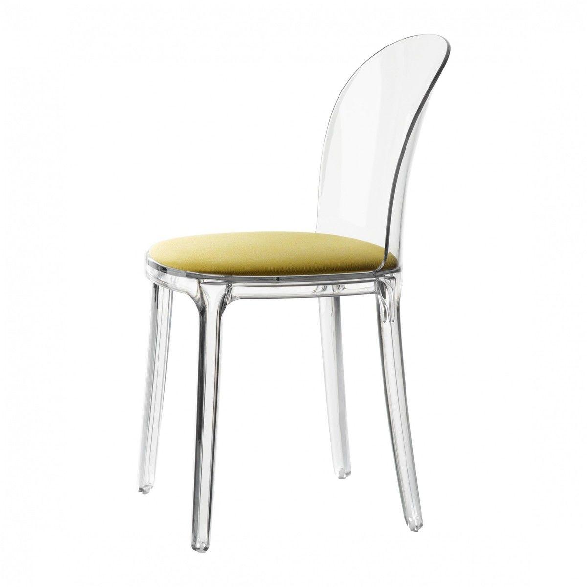 Vanity chair chaise transparente magis - Chaise transparente couleur ...