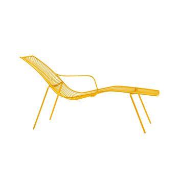 Pedrali - Nolita 3654 Sonnenliege - gelb