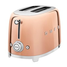 Smeg - TSF01 Toaster 2 Slices Metallic