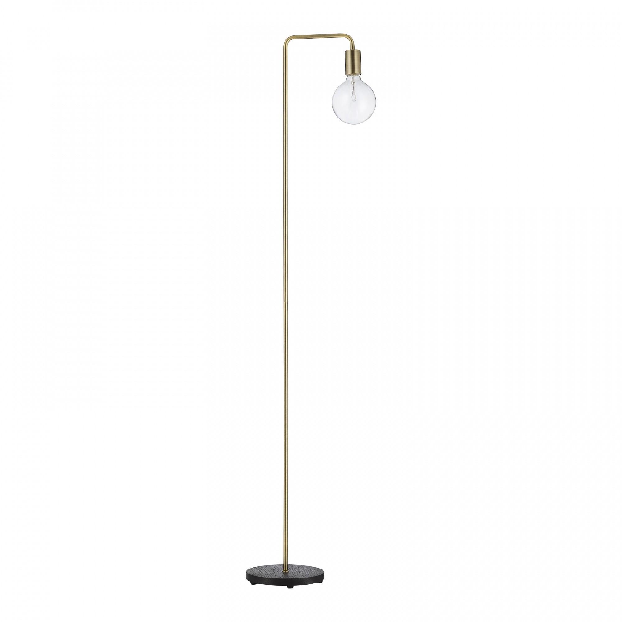 Frandsen Cool Floor Lamp Base Wood Ambientedirect