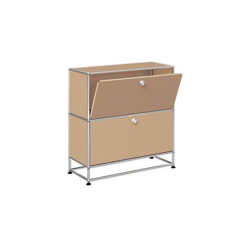 usm sideboard with 2 falling boards h 84cm usm haller. Black Bedroom Furniture Sets. Home Design Ideas