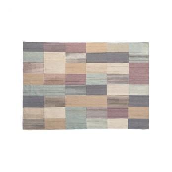 Nanimarquina - Blend 1 Wollteppich - mehrfarbig/Kilim: 100% afghanische Wolle/Dichte: 156.000 Knoten/m2/LxBxH 240x170x0.4cm/Gewicht:1.4 kg/m2