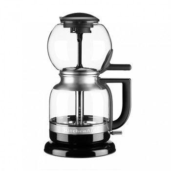 KitchenAid - Artisan 5KCM0812OB Siphon Kaffeebrüher - onyx-schwarz/glänzend/LxBxH 8.7x6x7x14.3cm/8 Tassen